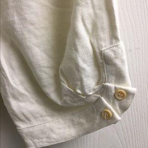 Ya Los Angeles Shorts - Ya Los Angeles cream white Linen shorts size S